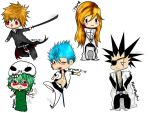 X- Bleach Chibis -X by TinyShiro