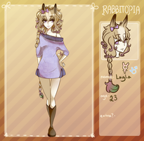 Rabbitopia app Layla by Eesiree