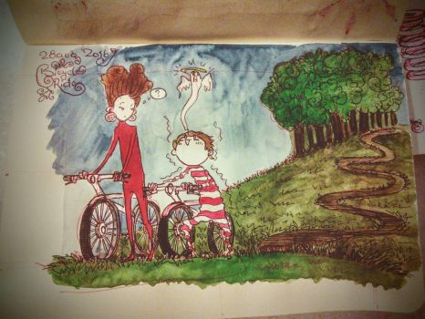 Bicycle ride by EadSan