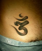 brush aum by ManuManuTattoo
