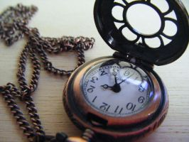 Teeny Tiny Pocket Watch by Cinnamonster