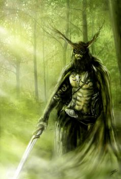 A Forest Guardian by Ionus