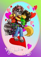 M-Lock in love by vanessasan