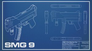 SMG9 Blueprint by Lt-Commander