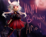 HAPPY BIRTHDAY ARIA !! by DarknedStar