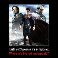 Superman = red underpants by qazinahin
