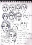 Keeari's Face Notes by Lillooler