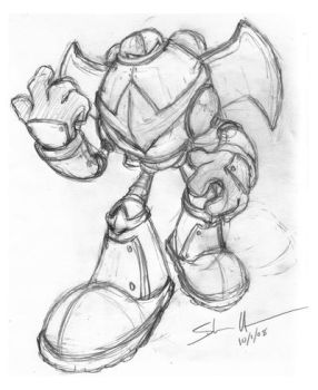Robot Sketch by StacMaster-S
