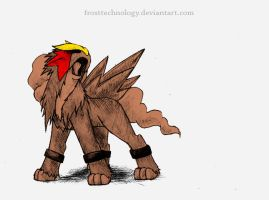 Entei by FrostTechnology