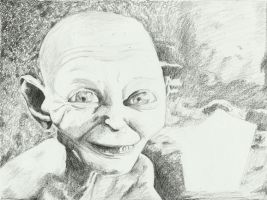 Gollum by purecoincidence