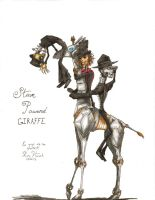 Steam Powered Giraffe by Zodiac-Bones