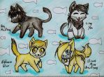 My 4 fav FMA chars are kitties by Keto-Schneider