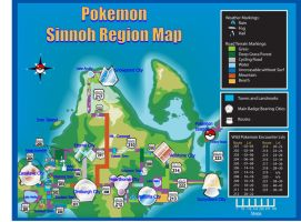 pokemon sinnoh map by tsunamia