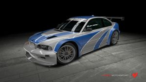 BMW M3 GTR - Need For Speed: Most Wanted by OutcastOne