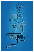 music is my religion by Marius1L