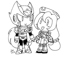 Mini Zero And Iris by mandy-kun