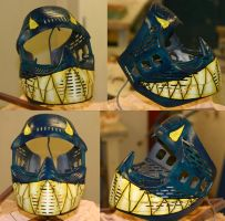 fanged paintball mask googels by Blavit