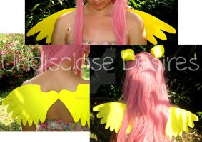MLP - Fluttershy Ears and Wings - Handmade by Undisclose--Desires