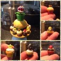 Mario cupcakes by Brownie314