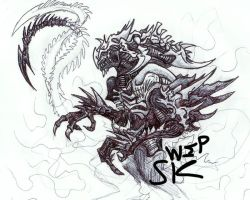 Monster Xeno WIP by KrewL-RaiN