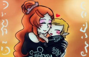 Midna and Alex by Christy58ying