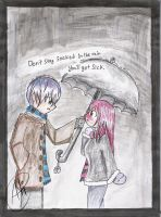 .:Don't stay in the rain:. by kaiomutaru25