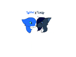 Twitter x Tumblr by Helkie-three