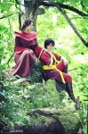 Ursa and Zuko by Harker-Cosplay