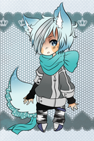SCARF Wearing Adopt #5 (AUCTION) (CLOSED) by Manekineko--chan