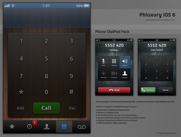 Phluxury Dialer [ iOS 6.1 - iPhone 4/4S ] by dirtysnachez