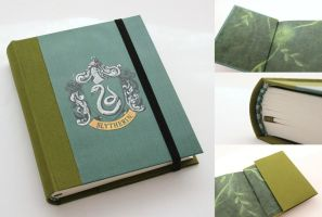 Harry Potter Journal - Slytherin by GatzBcn