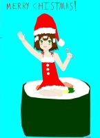 Baka and Test: Hideyshi the Christmas Trap! :0 by sealandmintbunny
