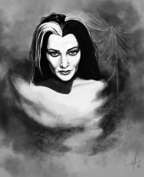 Lily Munster by lady-oceansoul