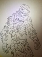 Crysis 2 (Skeleton) by cube93