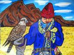 Young hawk trainer by AnaturalBeauty