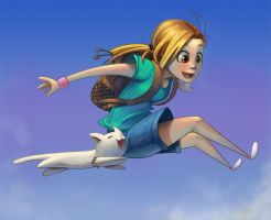 Jump to the sky by jamespuga