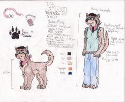 King Reference Sheet by kingking321