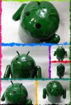 Android Mascot Papercraft by Mironius
