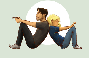 Couch Potatoes (Human!Impala+TARDIS) by RebekahKroeplin