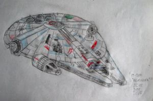 YT-1300 ''Blue Hawk'' by BlueBoxDave