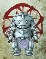Alphonse Elric by MythicPhoenix