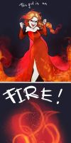This girl is on fire by CCCrystalClear