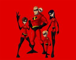 incredibles by meheekano