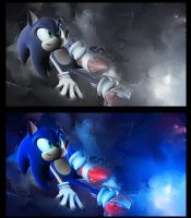 Sonic by create by Wcreates
