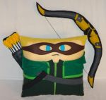 Handmade Green Arrow with Bow and Quiver v1.43 by RbitencourtUSA