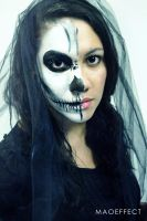 Laurie, Skull Girl. by Maowww