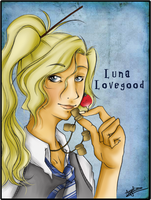 Sane as I am - Luna Lovegood by AngieParadiseeker