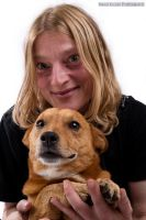 People And Their Pets: Simone And Spikey by mariokluser