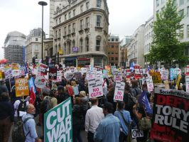 Protesters Underway by Party9999999