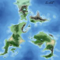 World Map by sisaat